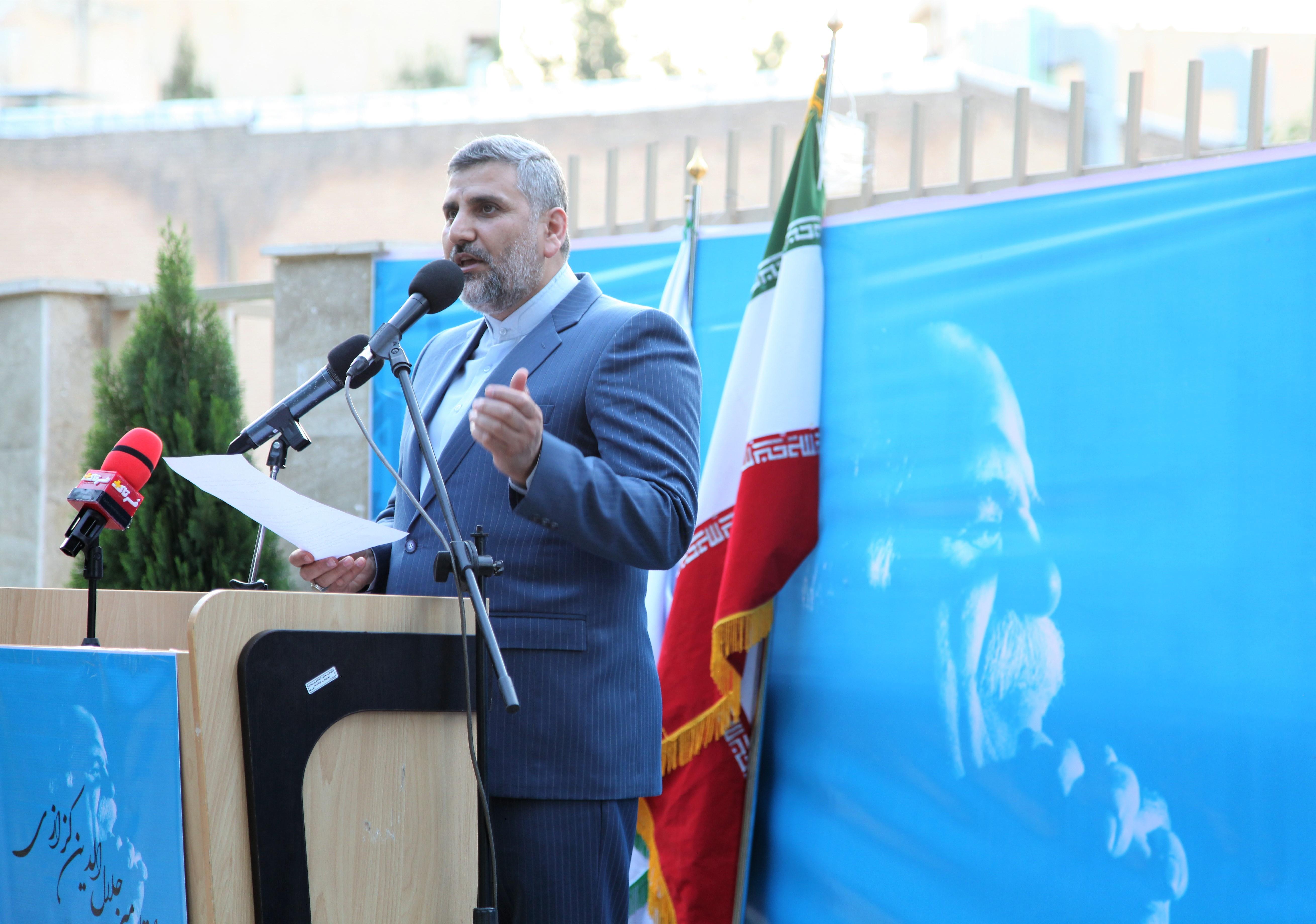 آیین رونمایی فرهنگستان میرجلال الدین کزازی