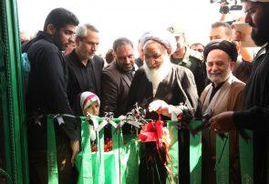 آیین افتتاح مسجد الغدیر روستای سنقر آباد بخش بیستون